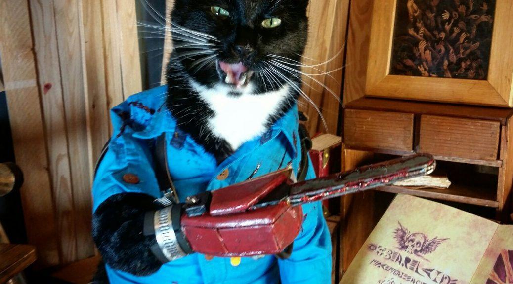 Cat vs. Evil Dead